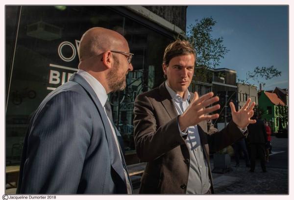 Premier Michel bezoekt Gent