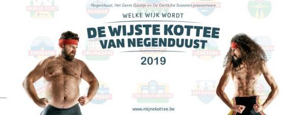 Welke wijk wordt de Wijste Kottee van Negenduust?